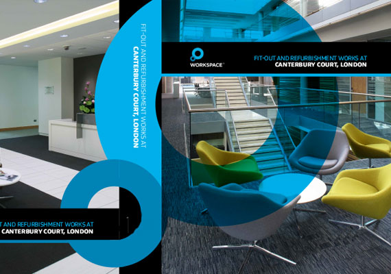 Design & print of the Workspace bid presentation for GRAHAM Construction.