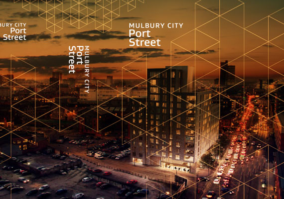 Design & print of the Mulbury City bid presentation for GRAHAM Construction.