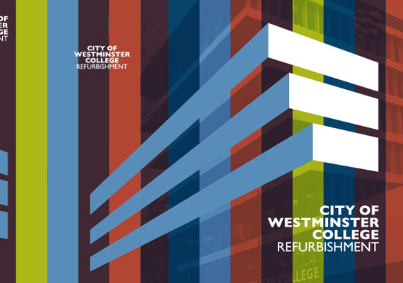 Design & print of the City of Westminster College bid presentation for GRAHAM Construction.