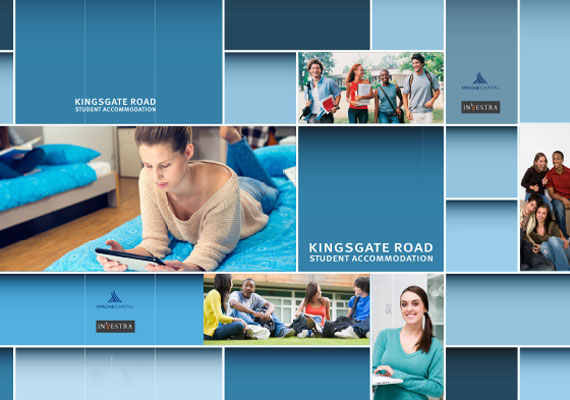 Design & print of the Kingsgate Road bid presentation for GRAHAM Construction..