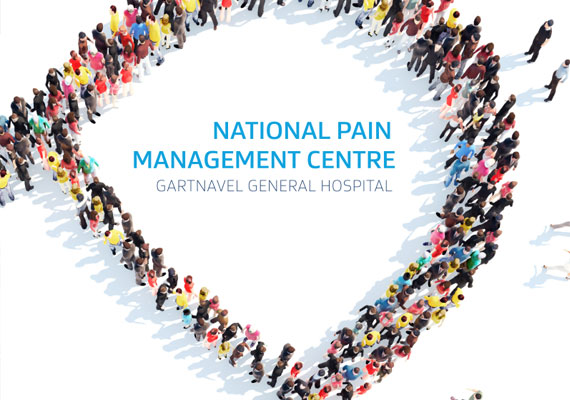 Design & print of the National Pain Management Centre bid presentation for GRAHAM Construction.